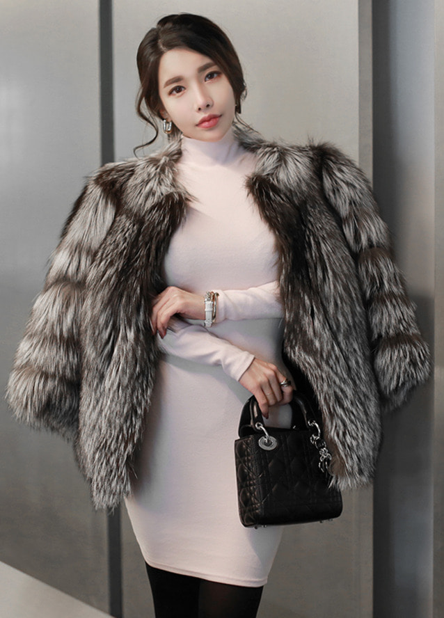 [희귀종] Real saga silver fox fur